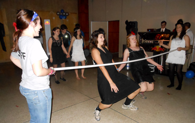 Honors Dance for a Chance limbo