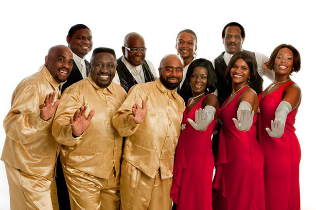 Musical group Masters of Soul group picture