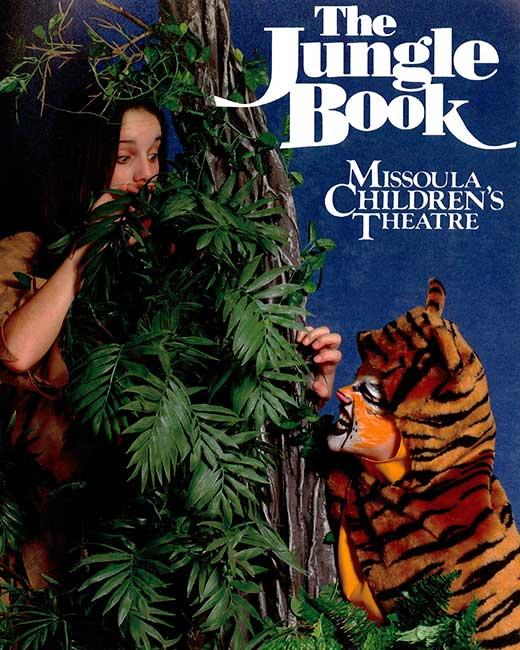 Advertisement poster for the Jungle Book performance
