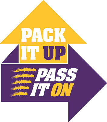 Pack it pass it logo
