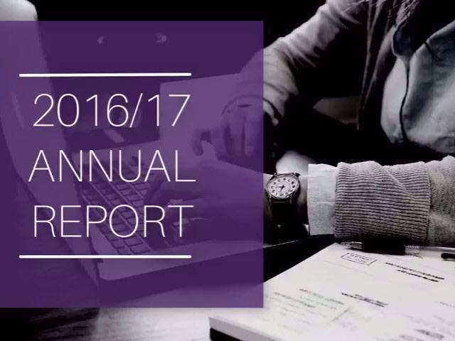 Distance Education Annual Report 2016-17