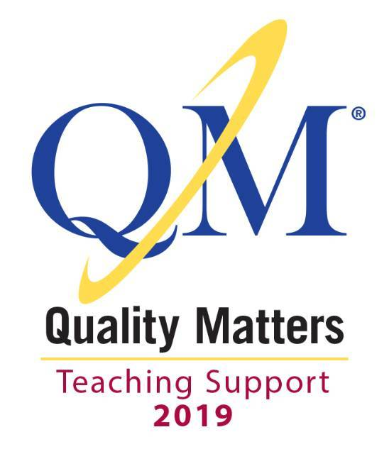 Quality Matters seal