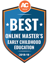 Best online programs badge - Master's In Early Childhood Education from AffordableCollegesOnline.org