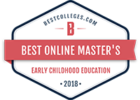 Best online programs badge - Master's In Early Childhood Education from BestColleges.com