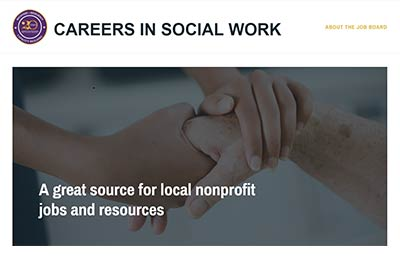Careers in Social Work, A great source for local nonprofit jobs and resources