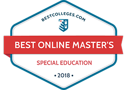 Best Online Master's in Special Education Programs from BestColleges.com