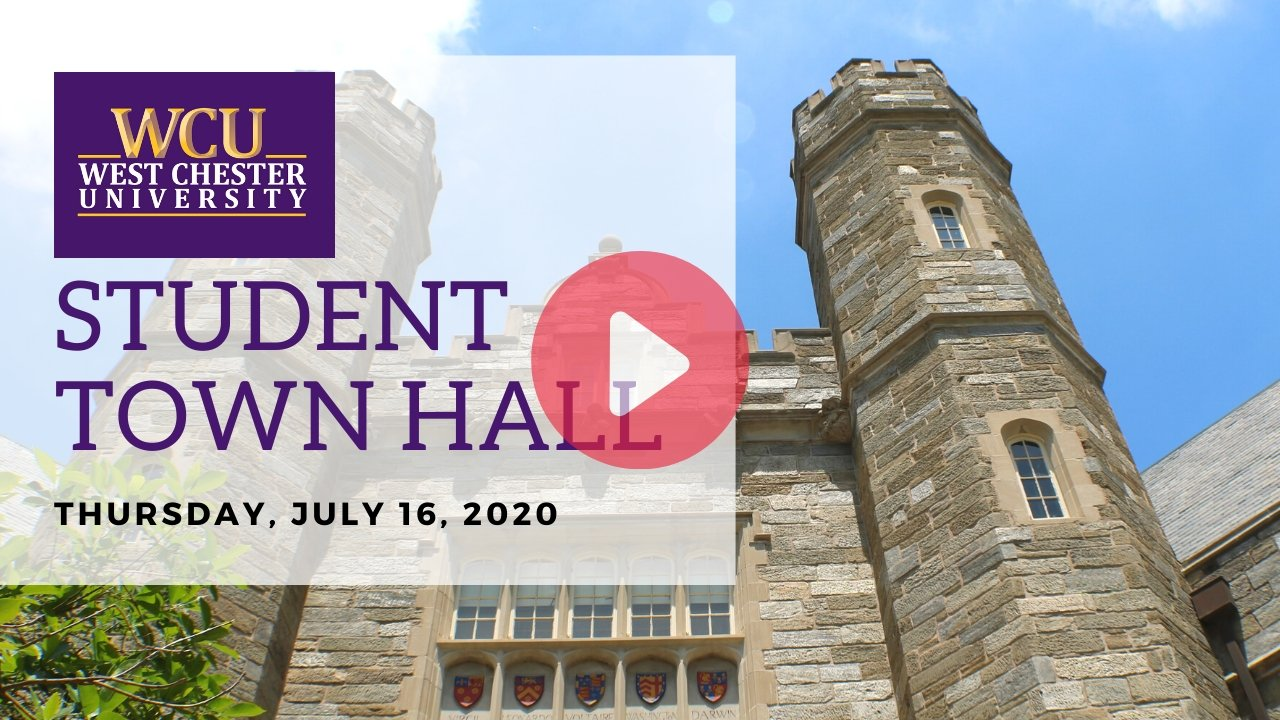 WCU Student Town Hall Video link