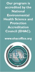 National Environmental Health Science and Protection Accreditation Council (EHAC)