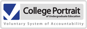 College Portrait logo (follow for statistics)