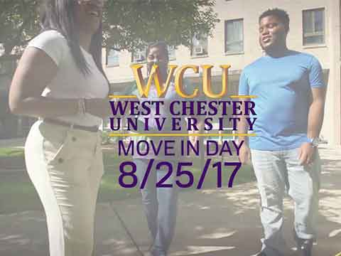 video: WCU Move in Day 2017