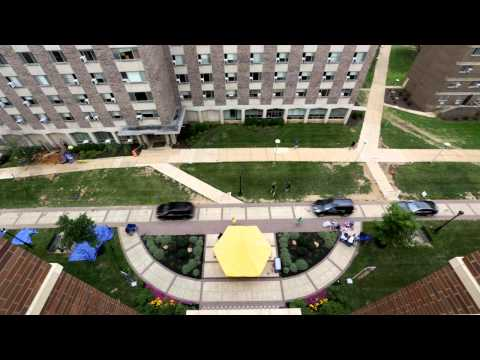 video: West Chester University Move-In Day 2014