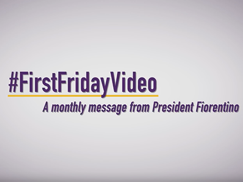 video: #FirstFridayVideo - November 2018
