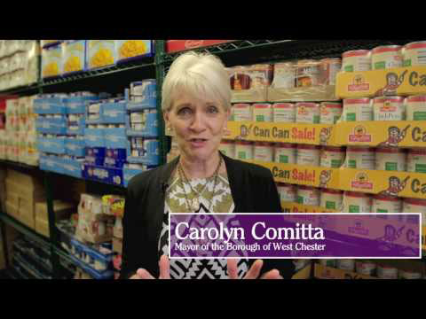 video: West Chester Food Cupboard and WCU Center for Community Solutions