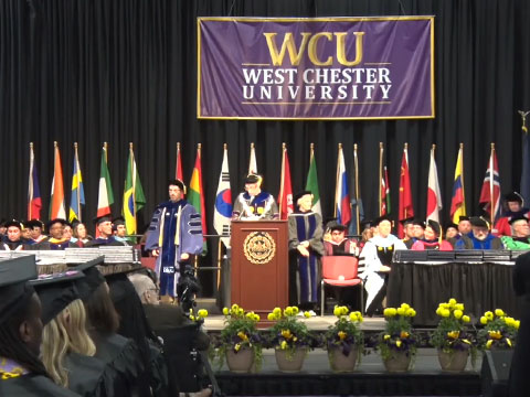 video: Spring 2018 Commencement Graduate Ceremony
