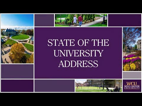 video: State of the University Address 2016 - West Chester University of Pennsylvania