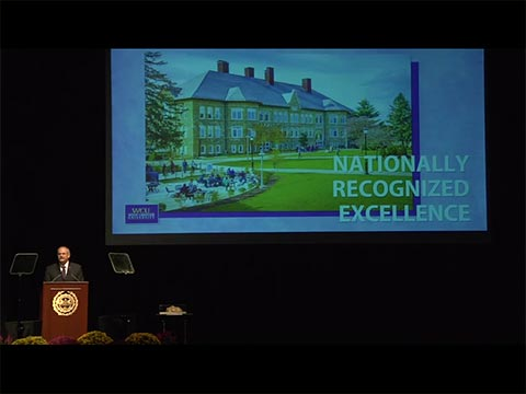 video: The President's State of the University Address 2015