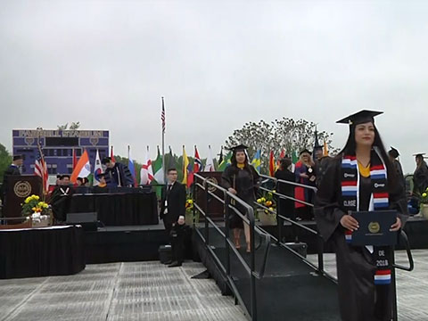 video: Spring 2018 Commencement AM Ceremony