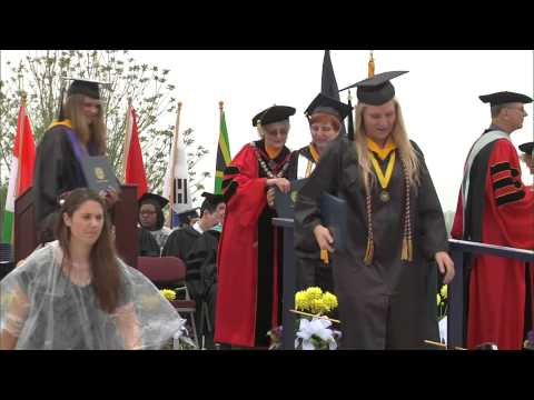 video: Undergraduate Commencement Ceremony 5/9/15