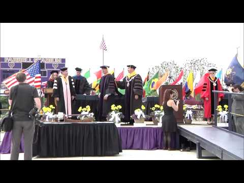 video: Undergraduate Commencement Ceremony 5/10/15 Sunday