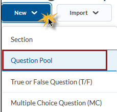 Select Question Pool
