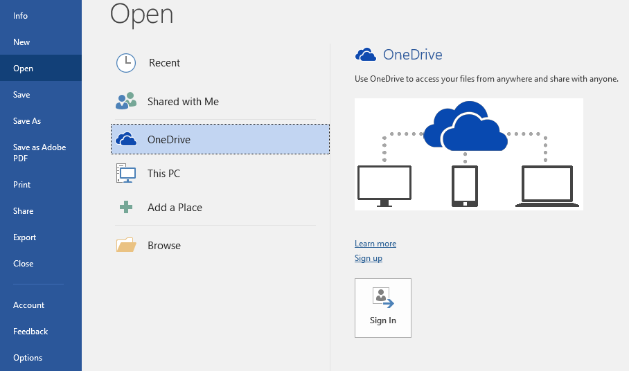 After Sign Out Users WCU OneDrive Data no longer accessible
