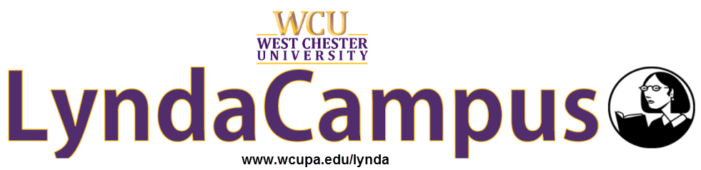 LyndaCampus Banner with Link Text