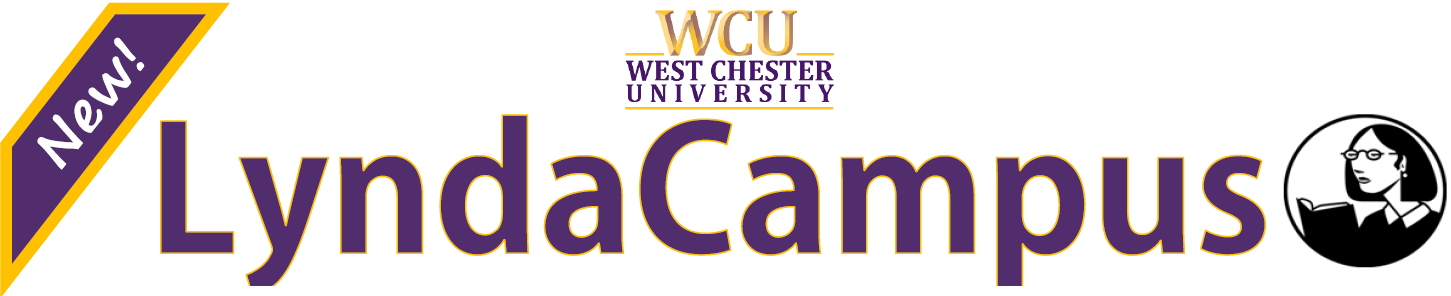 New! LyndaCampus at West Chester University