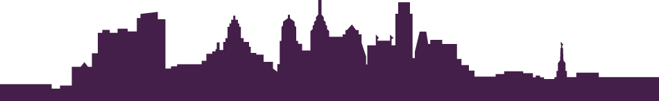 Philly Skyline Graphic