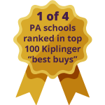 1 of 3 PA schools ranked in top 100 Kiplinger 'best buys'
