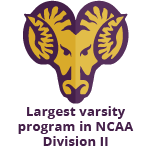 Largest varsity program in NCAA Division II