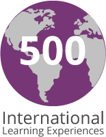 500 International Learning Experiences