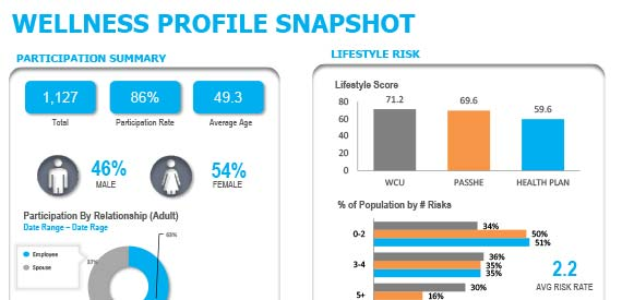 Wellness Profile Snapshot