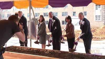 WCU Business and Public Affairs Center Groundbreaking Ceremony Video