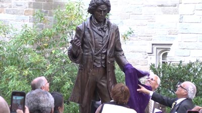 Frederick Douglass Statue Dedication Video