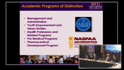 Watch the West Chester University Action Plan video