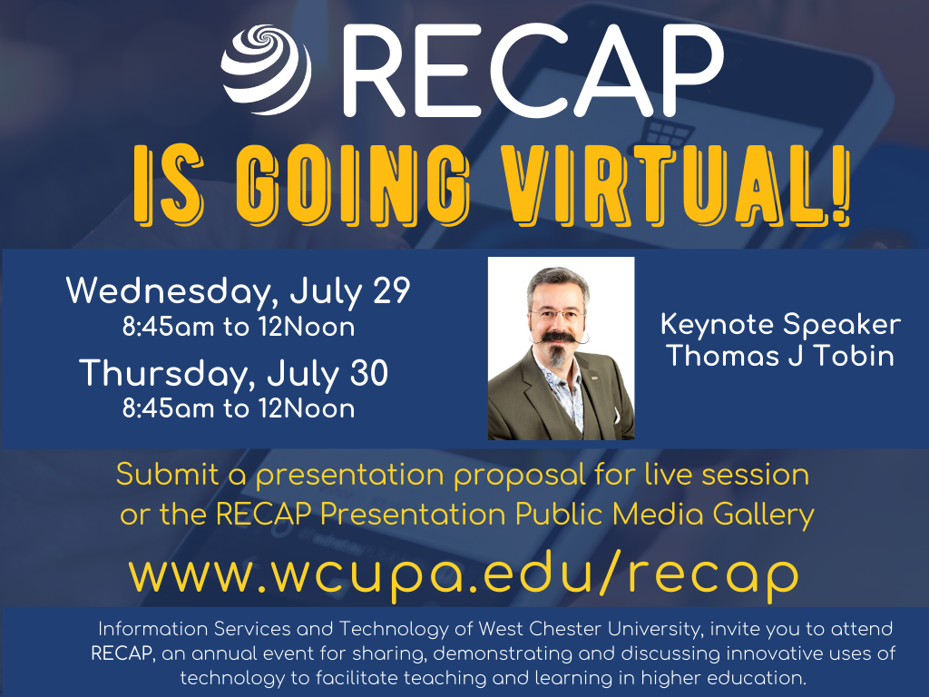 RECAP 2020 Virtual Conference July 29 and 30