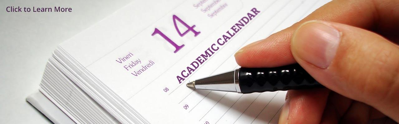 academic calendar west chester university
