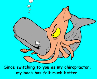 Since Switching to you as my chiropractor, my back has felt much better.
