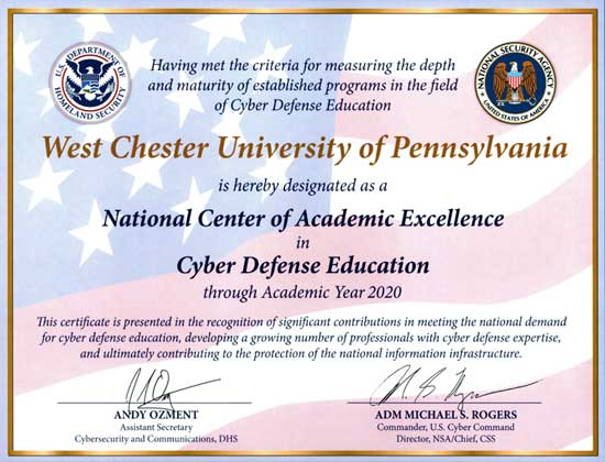 NSA Cyber Defence Education Certification