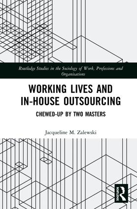 Wroking Lives and In-house Outsoursing book cover