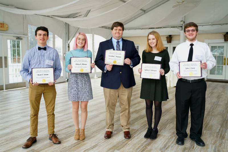Mathematics Scholarship Awardees
