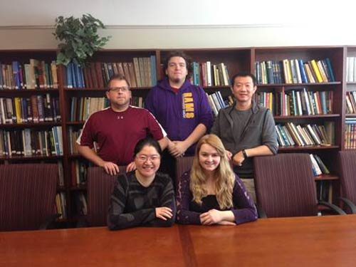Dr. Chuan Li and his students