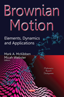 Brownian Motion Book Cover