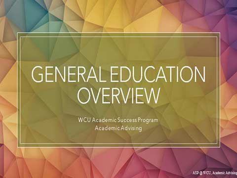 General Education Overview