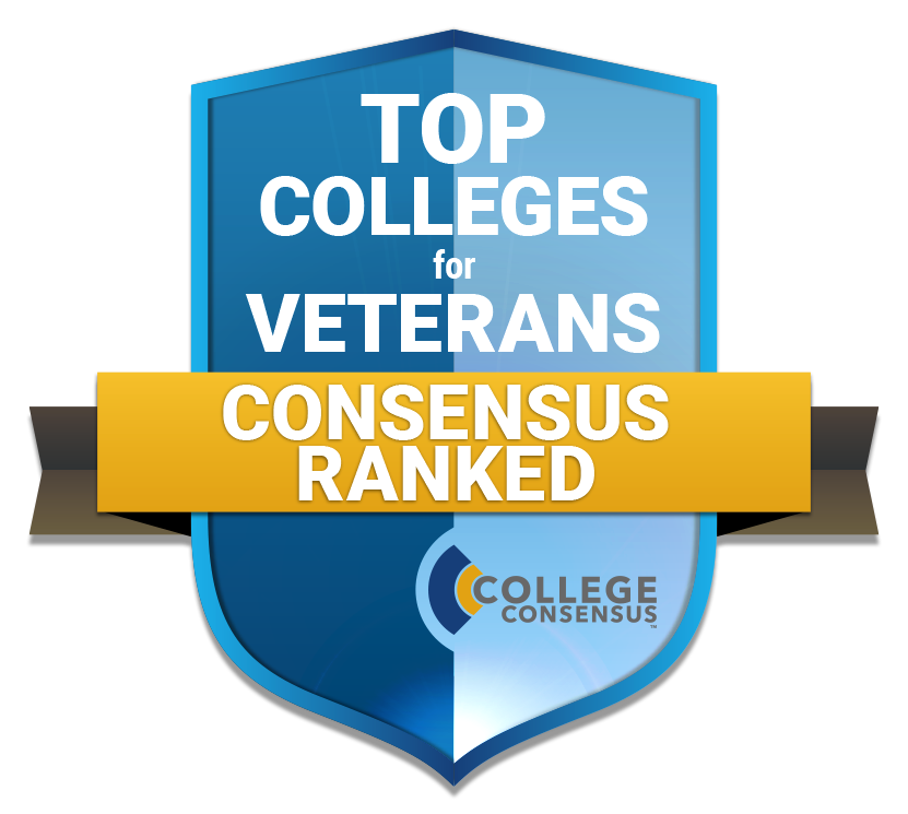 Top Colleges for Veterans Ranked by Consensus Ranked logo